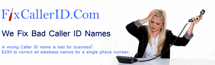 Fix wrong or bad Caller ID Name