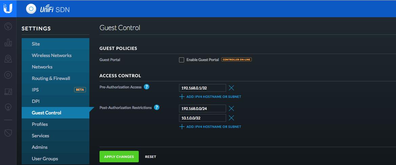 UBNT com UniFi - Guest Network, Guest Portal and Hotspot